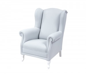 Fedding armchair - light grey