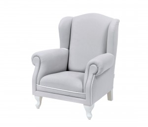 Mini armchair - light grey