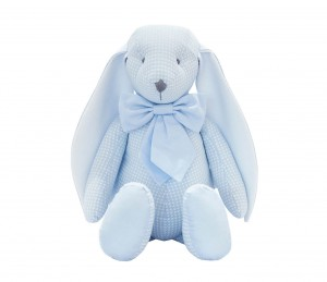 Decorative bunny - Cheverny Blue