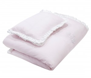 Baby bedding – Misty Jersey light pink