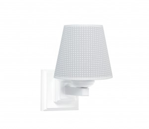 Square sconce - Cheverny Grey