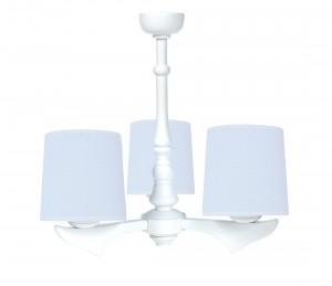 Three - armed chandelier - Frenchy Blue