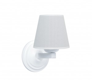 Round sconce - Cheverny Grey