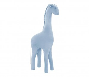 Decorative giraffe- blue velvet