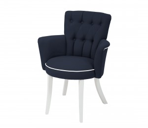 Carla chair - navy blue