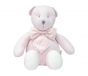 Decorative teddy bear - Frenchy Pink