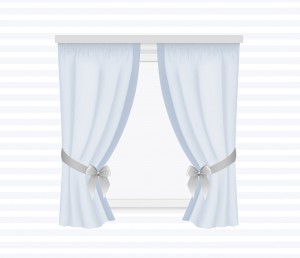 Curtains with cuff - for individual order
