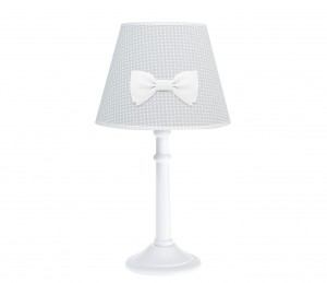 Poeme lamp - Cheverny Grey with bow