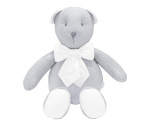 Decorative teddy bear - Frenchy Grey