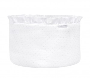 White care basket - Silver Bright