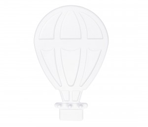 Hot air balloon – white hanger