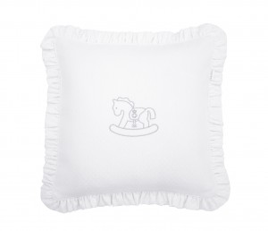 Silver Bright pillow