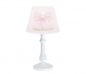 L' Amour lamp - Golden Glow with bow