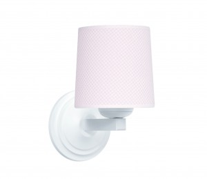 Round sconce - Frenchy Pink