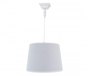 Square chandelier - Frenchy Grey