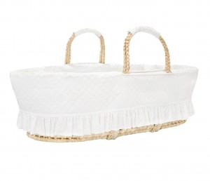 Moses basket Silver Bright