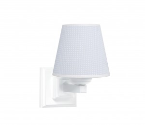 Square sconce - Cheverny Blue