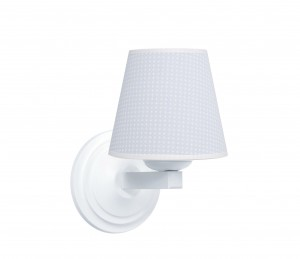 Round sconce - Cheverny Blue