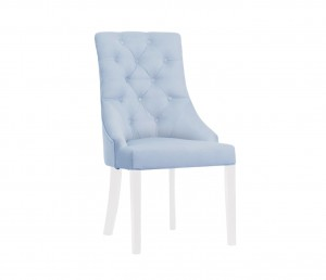 Kelly chair - blue velvet