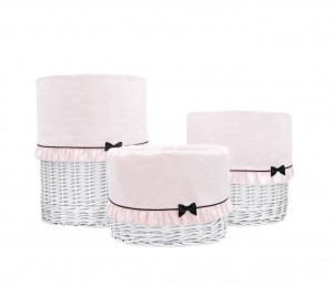 White round basket – big – Petit Paris