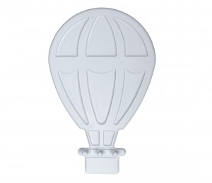 Hot air balloon – grey hanger
