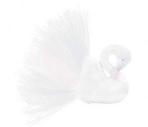 Decorative Swan - white