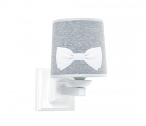 Square sconce with bow- York