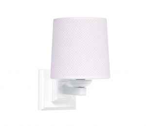 Square sconce - Frenchy Pink