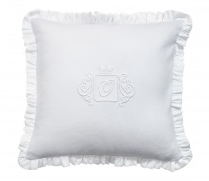 Misty Jersey pillow - light grey