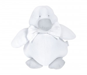 Decorative baby duck - white