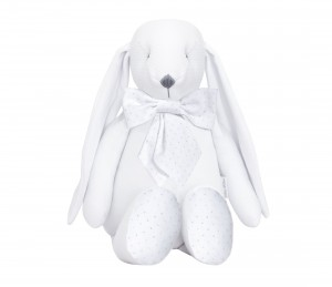 Decorative bunny - Silver Bright