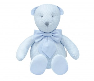 Decorative teddy bear - Frenchy Blue