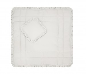 Play mat beige with pillow