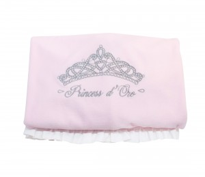 "Blanket ""Princess"" with white flounce"