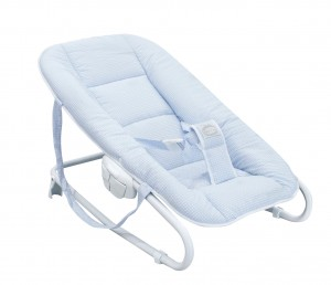 """Little Dream"" baby bouncer - blue"