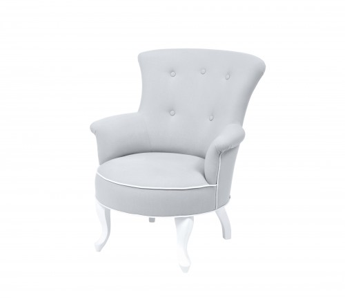 Valentino armchair - light grey