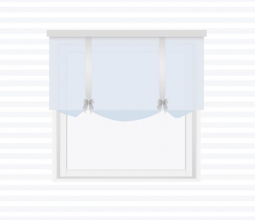 Valance with bows on sashes - for individual order