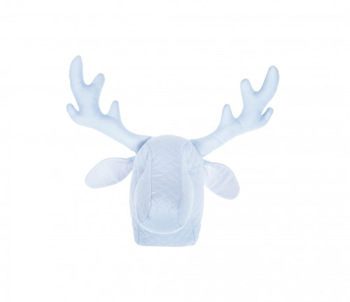 Blue decorative caribou