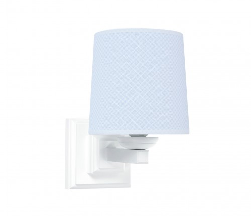 Square sconce - Frenchy Blue