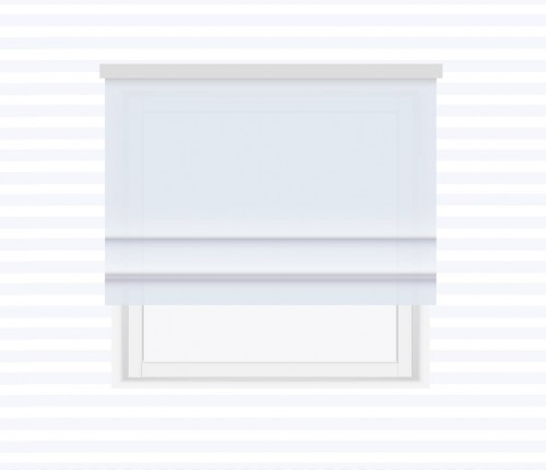 Smooth Roman blind - for individual order