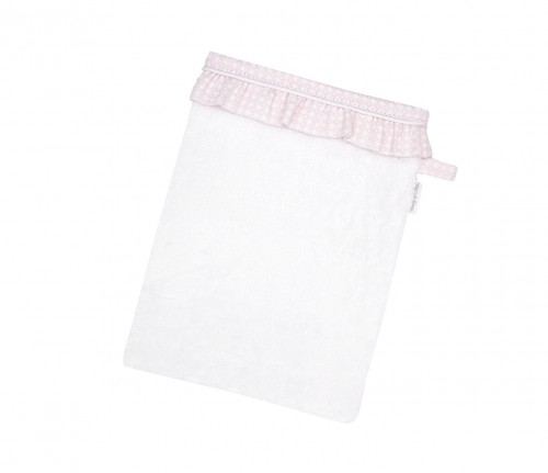 Washing glove Cheverny Pink