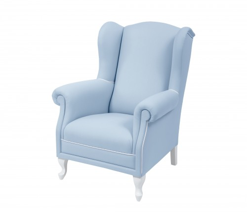 Fedding armchair - blue