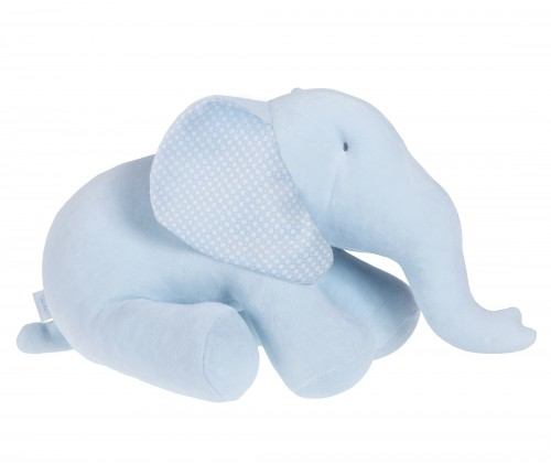 Big blue decorative elephant