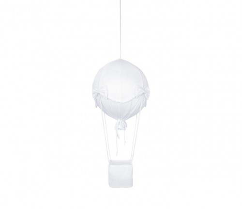 Small decorative air balloon - Silver Bright