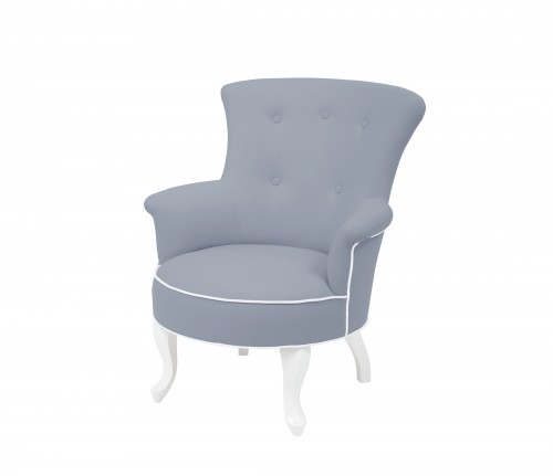 Valentino armchair - dark grey