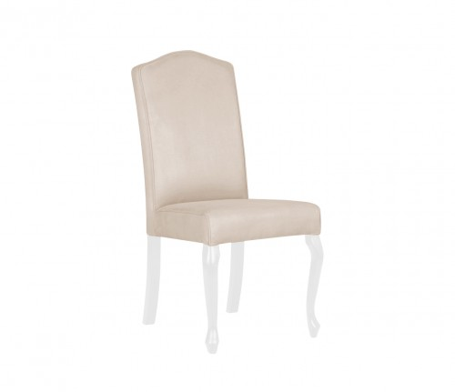 Louis chair - beige velvet