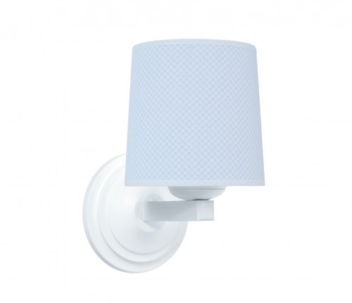 Round sconce - Frenchy Blue