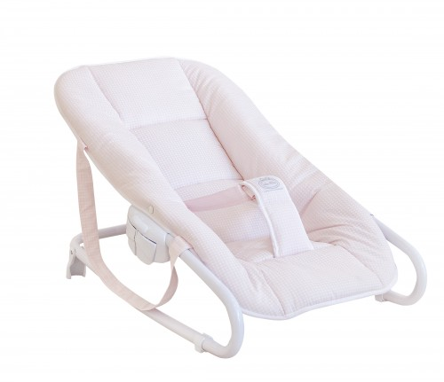 """Little Dream"" baby bouncer - pink"