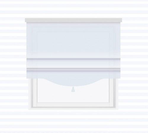 Roman blind with tassel - for individual order