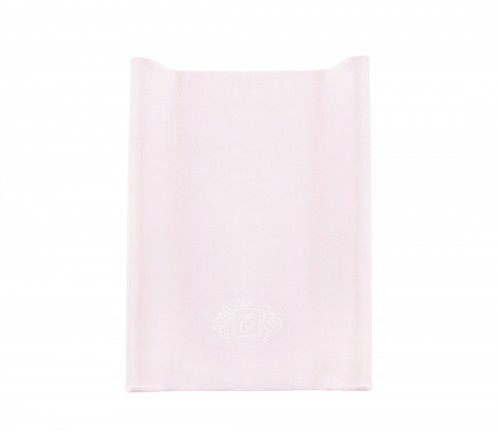 Velour baby changing station - pink